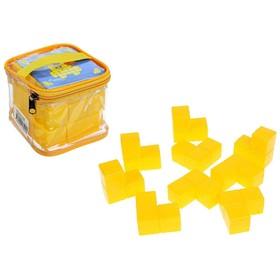 Кубики развивающие «Уголки», в сумке
