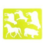 Трафарет для рисования «Домашние животные», европодвес