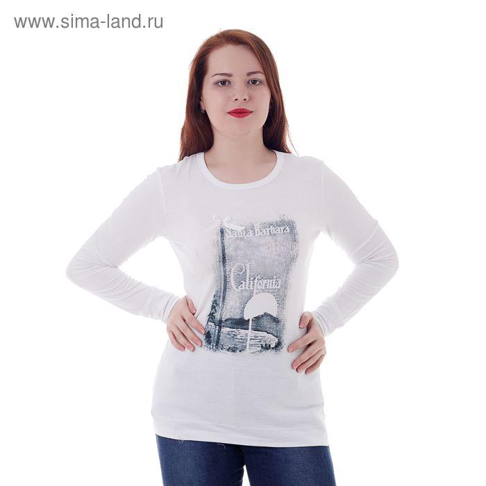 Джемпер женский MV19049 белый, р-р 52 (104)