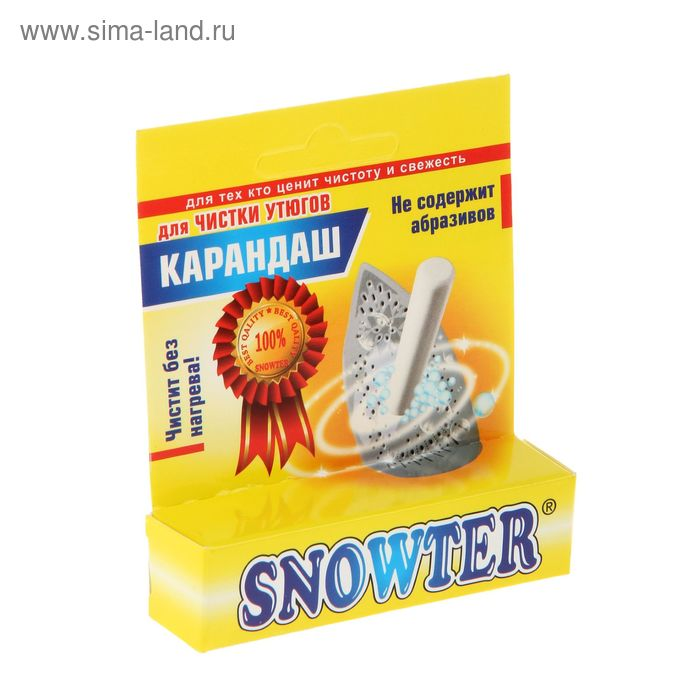 Карандаш для чистки утюгов Snowter, без нагрева, 35 г