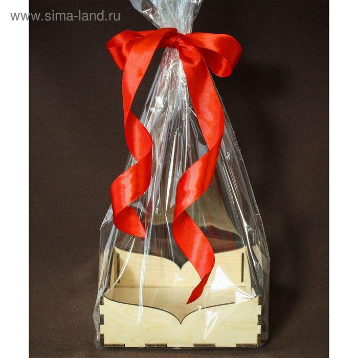 """Подарочная упаковка """"Фигурная"""", с жестким дном, 14х14х5 см"""