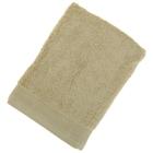 Полотенце махровое гладкокрашеное, размер 50х100 см, 500 г/м², цвет фисташка