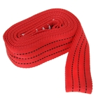 Трос-лента буксировочный TORSO premium, 5 м, 12 т, без крюков, красный