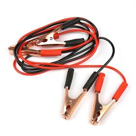 Провода-прикуриватели TORSO, 100 А, -30 до +80º, длина 2 м, 12 В, в пакете