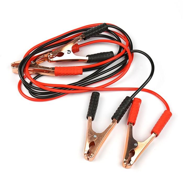 Провода-прикуриватели TORSO, 100 А, -30 до +80º, длина 2 м, 12/24 В