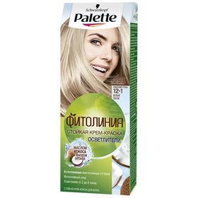 Крем-краска для волос Palette Фитолиния, тон 253, белый песок
