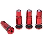Набор вентилей для автомобильного диска, 4 шт., 42 мм, красные