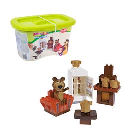 Конструктор Маша и Медведь «Кухня Мишки», 35 деталей