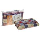 Одеяло стеганое Золотое руно 140х205 см легкое 200 гр/м, овечья шерсть, смесовый микс