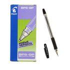 Ручка шариковая Pilot BPS-GP, резиновый упор, 1.0мм, масляная основа, стержень черный