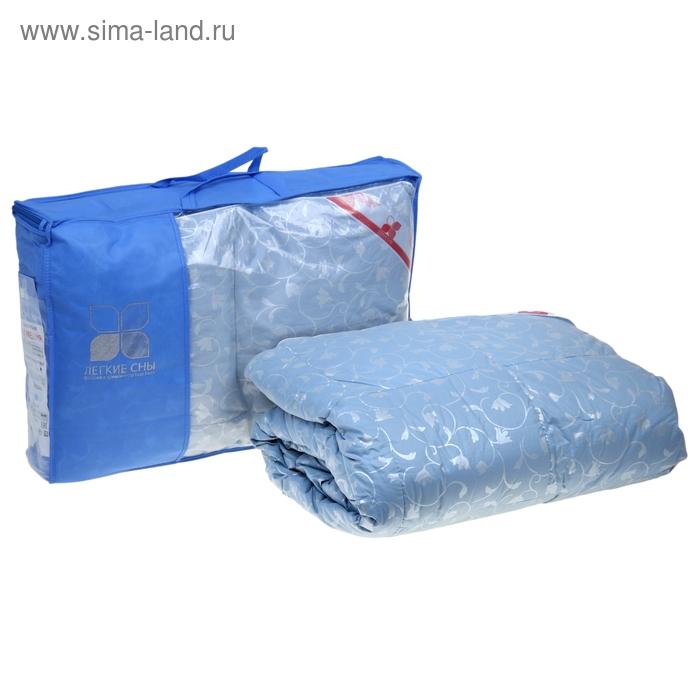 Одеяло кассетное Камелия 172х205 см легкое, гусиный пух, тик микс, 100% хлопок