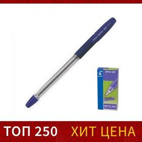 Ручка шариковая Pilot BPS-GP, резиновый упор, 0.7мм, масляная основа, стержень синий, BPS-GP-F