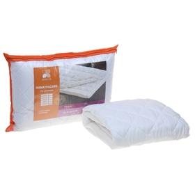 Наматрасник Холфитекс на резинке 90х200 см, 150 гр/м, микрофибра/спандбонд белый