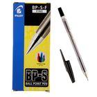 Ручка шариковая Pilot BP-SF, узел 0.7мм, чернила чёрные на масляной основе, металлический наконечник