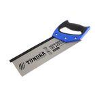 УЦЕНКА Ножовка по дереву TUNDRA comfort, для стусла каленый зуб 5мм, 300мм