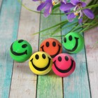 "Ball rubber ""Smiley face"", MIX colors 2.5 cm"