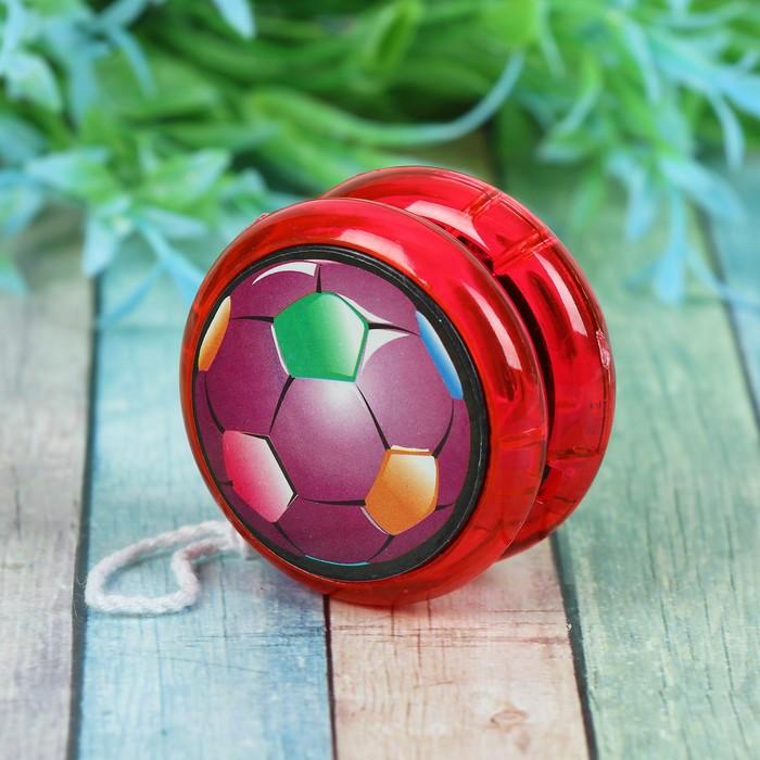 Йо-Йо световой «Футбол», цвета МИКС
