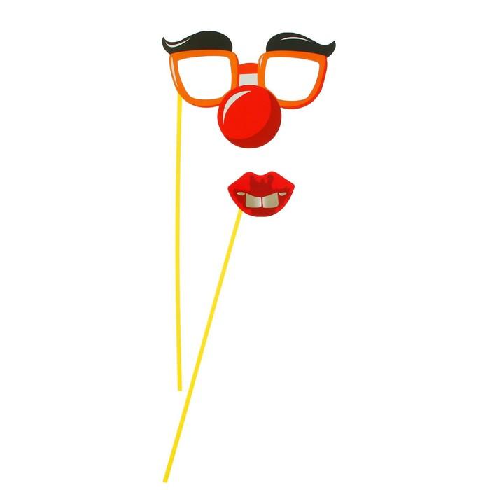 Смешные очки для фотосессии