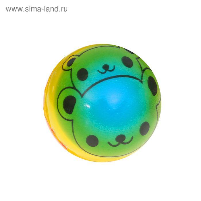 "Мягкий мяч ""Мишка"", 6,3 см"