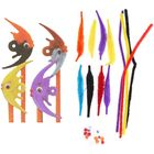 """Set for creativity """"Decorate the handle - fish"""" 4-piece"""