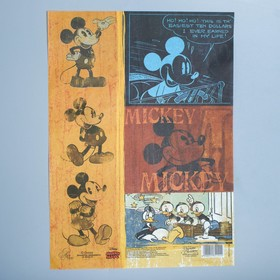 Декупажная карта 'Классический Микки ', Микки Маус, 21 х 29,7 см Ош