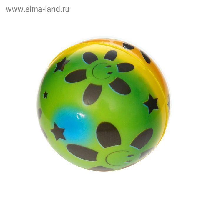 """Мягкий мяч """"Смайлик"""", 6,3 см"""