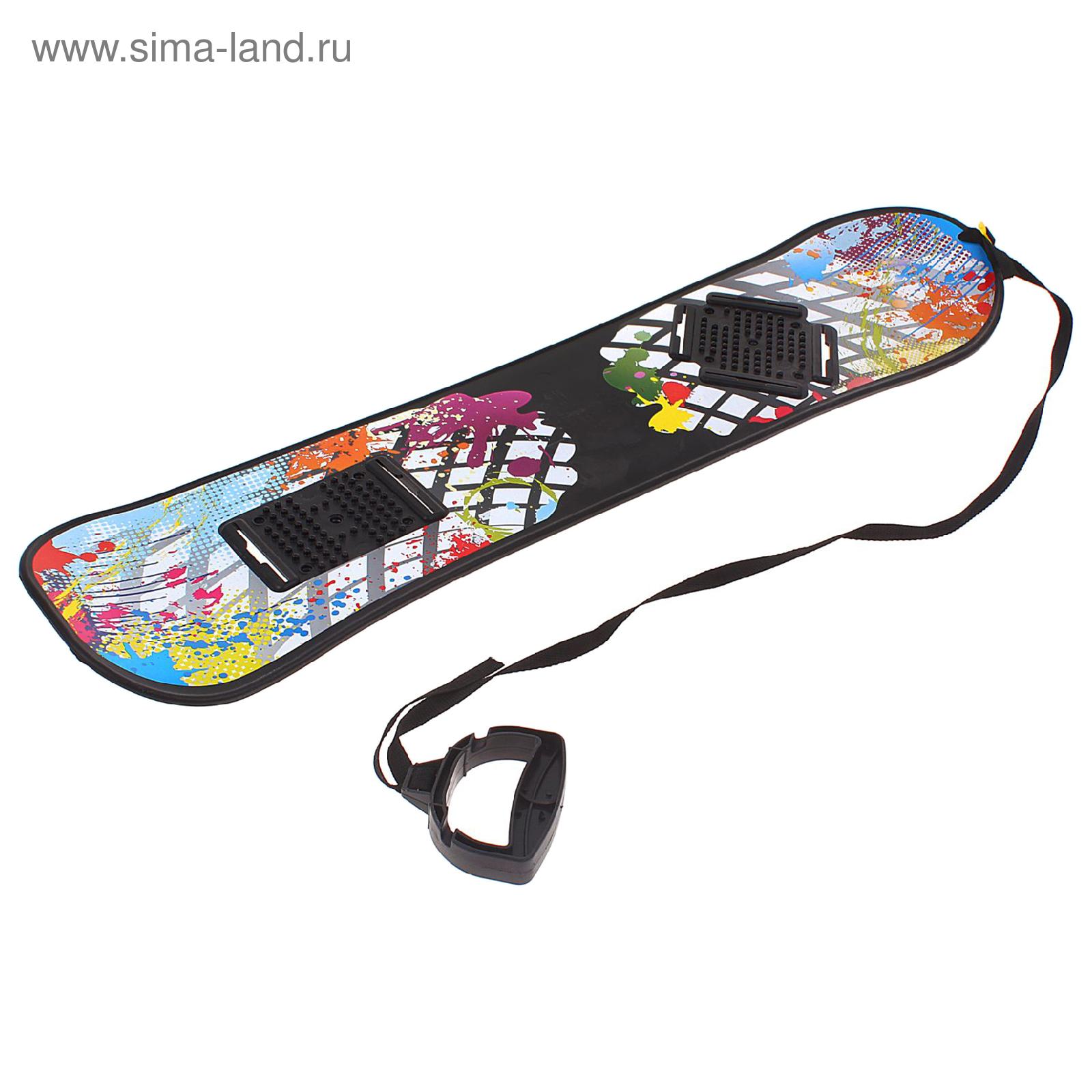 Сноускейт без креплений, с ручкой (1195433) - Купить по цене от ... de4565778be