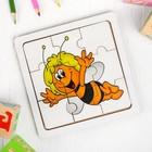 """Пазл """"Пчёлка с усиками"""""""