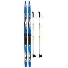 Комплект лыжный TREK Blazzer/ Маяк/ Валамаз (140/100 (+/-5 см), крепление: КМУ 001) МИКС