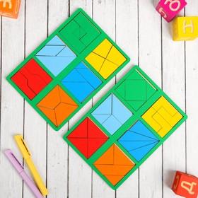 «Сложи квадрат» Б.П.Никитин, 2 уровень (мини), цвета МИКС