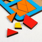 «Сложи квадрат» Б.П.Никитин, 3 уровень (макси), МИКС, ячейка: 6 × 6 см - фото 105590339