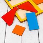 «Сложи квадрат» Б.П.Никитин, 1 уровень (мини), цвета МИКС - фото 1029941