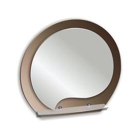 Зеркало «Богема», настенное с полочкой, 60,5х52 см Ош