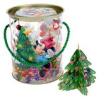 "Коробка-тубус подарочная ""Веселого Нового года!"", Микки Маус, + бонус"