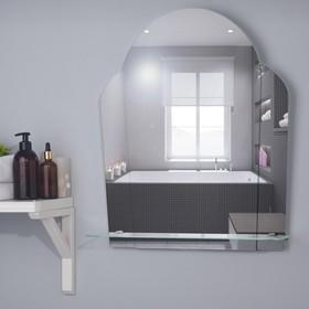 Зеркало «Нарцисс», настенное, с полочкой, 48,5×57,5 см