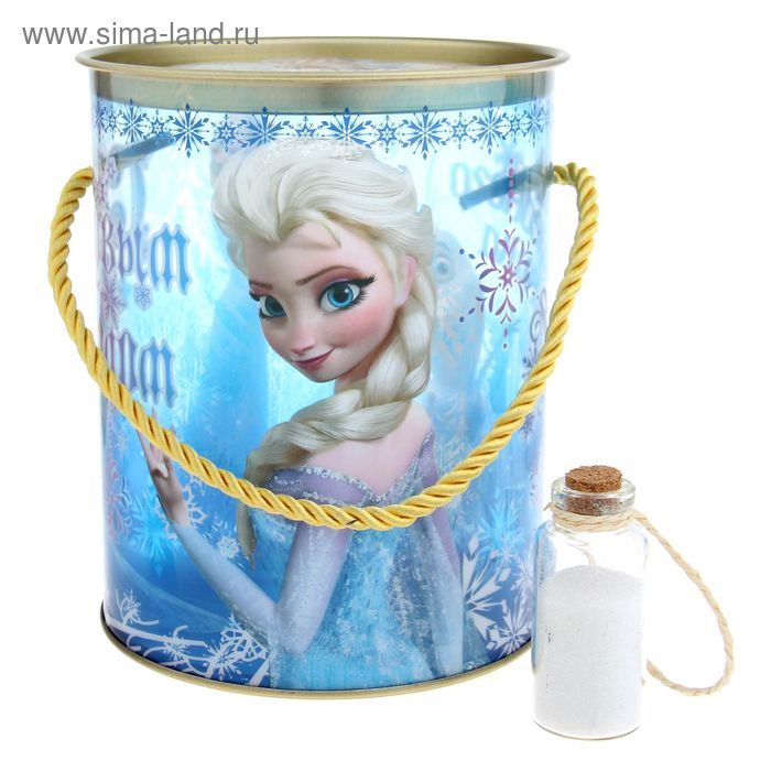 "Коробка-тубус подарочная ""Время волшебства"", Холодное сердце, + бонус"