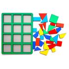 «Сложи квадрат» Б.П.Никитин, 1 уровень (макси), МИКС - фото 1029946