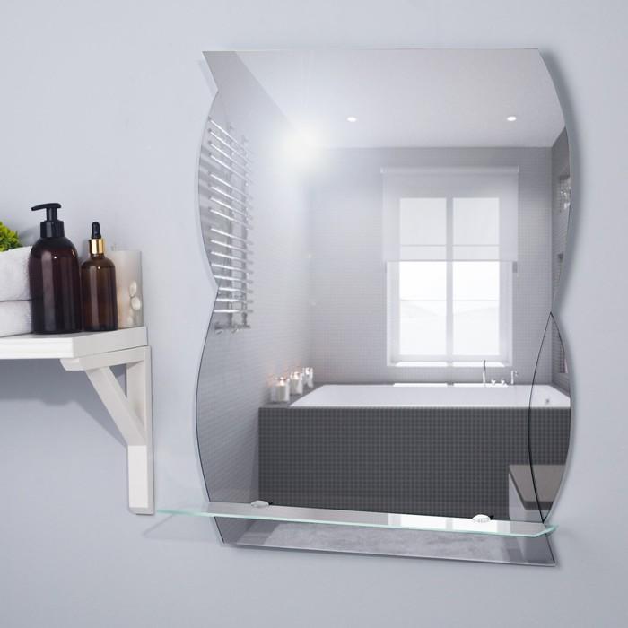 Зеркало «Поэзия», настенное, с полочкой, 51×63,7 см
