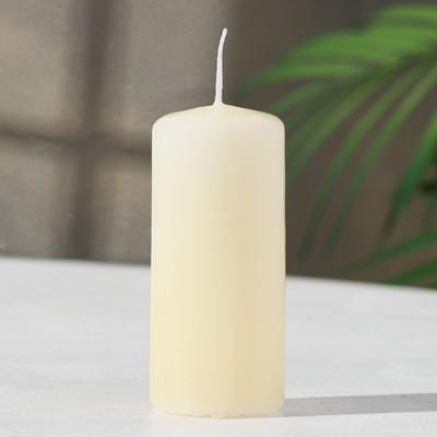 Свеча пеньковая ароматическая «Персик», 4 х 9 см