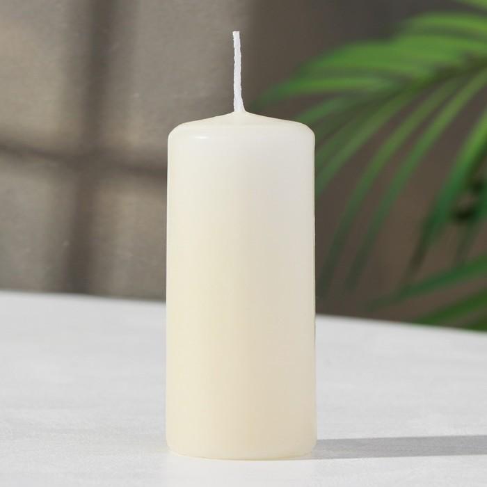 Свеча пеньковая ароматическая «Ваниль», 4 х 9 см