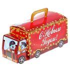 Складная коробка «Новогодний автоэкспресс», 24 х 12 х 12 см