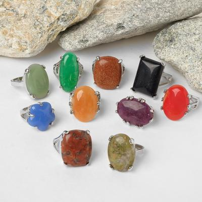 """Ring """"mixed stones"""" small, form MIX, dimensionless"""