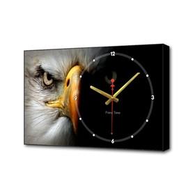 """Часы настенные, серия: Животные, """"Орёл"""", 57х35х4 см"""