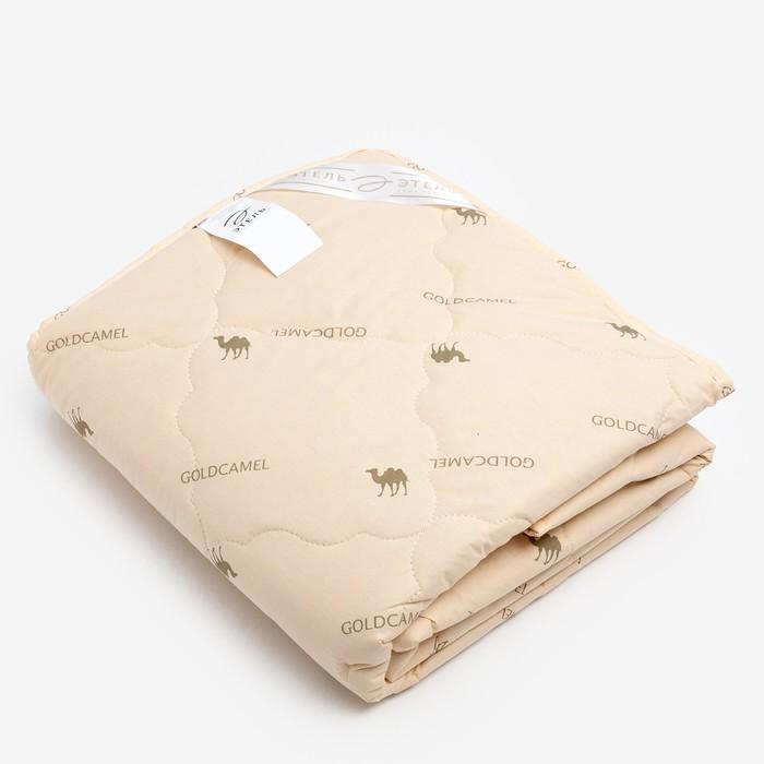 """Одеяло """"Этель"""" Верблюжья шерсть 140*205 см, тик, 300 гр/м2 - фото 600488"""