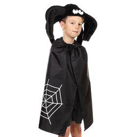 Детский карнавальный костюм «Паучок», шапка, плащ, рост 122-134 см