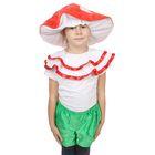 """Детский карнавальный костюм """"Гриб"""", 3-5 лет, рост 104-116 см"""