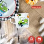 Набор детской посуды «Светофор», 3 предмета: кружка 230 мл, миска 400 мл, тарелка 18 см - фото 105458228