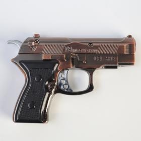 Зажигалка «Пистолет», пьезо, газ, микс в Донецке