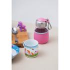 Набор детской посуды «Пони», 3 предмета: кружка 230 мл, миска 400 мл, тарелка 18 см - фото 105458238