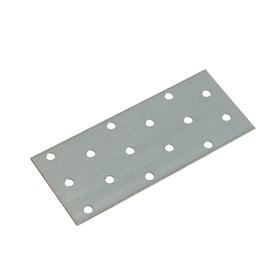 Пластина крепёжная оцинкованная 50х120х2 мм Ош